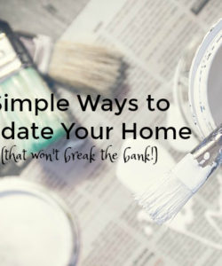 update your home