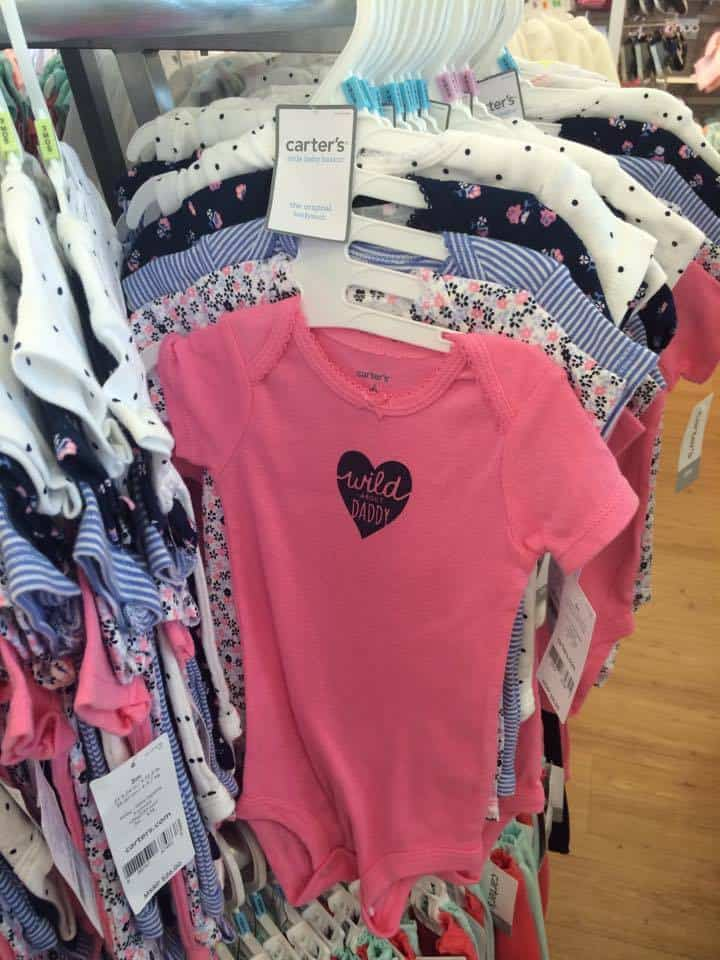 carters girl bodysuits