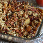 Say Hello To Fall With This DELICIOUS Apple Cranberry Pecan Crumble