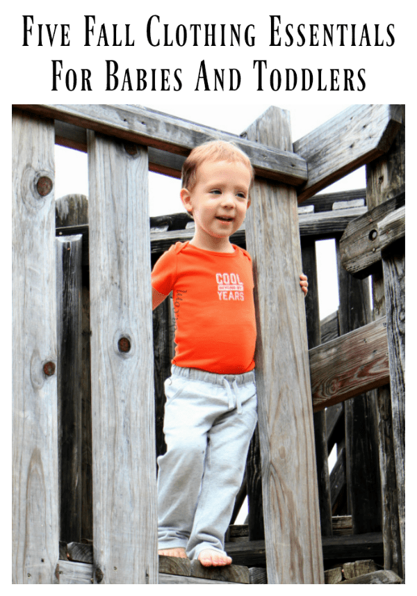 Five Fall Clothing Essentials For Babies And Toddlers
