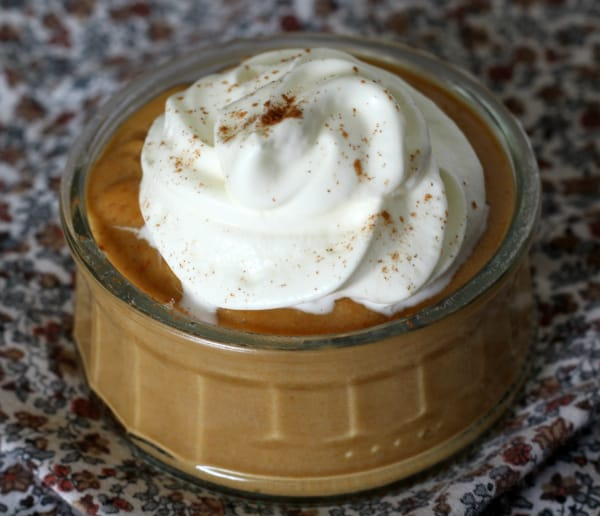 homemade pumpkin pudding 2