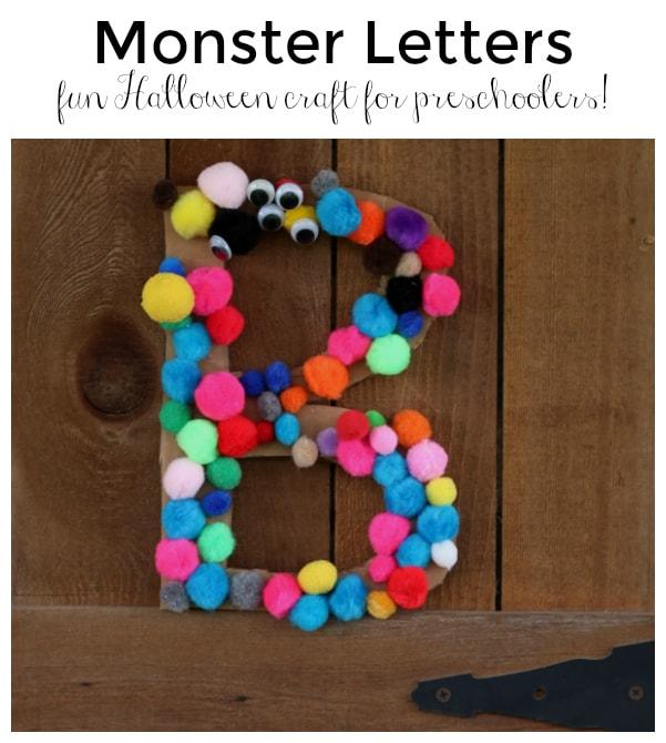monster-letters-fun-halloween-craft-for-preschoolers