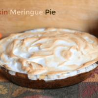 Pumpkin Meringue Pie - A Sweet Autumn Dessert