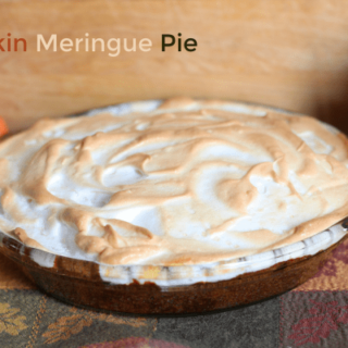 Pumpkin Meringue Pie - A Sweet Autumn Dessert