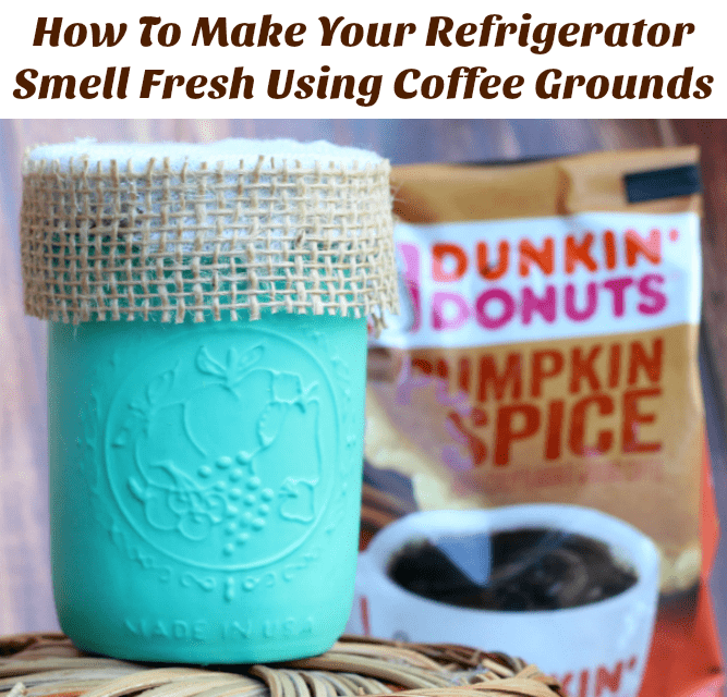 How To Make Your Refrigerator Smell Fresh Using Coffee Grounds
