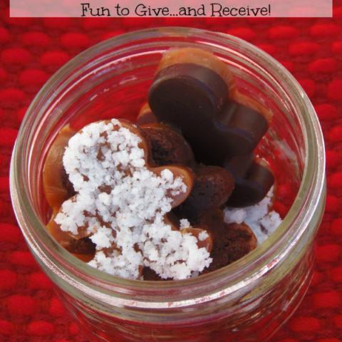 Mini Layered Chocolates