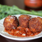 Arancini with Marinara and Broccolini – Create an Italian Inspired Meal