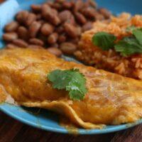 Authentic Cheese Enchiladas