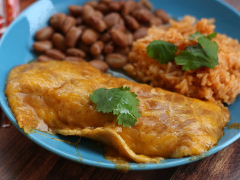 How To Make Authentic Cheese Enchiladas