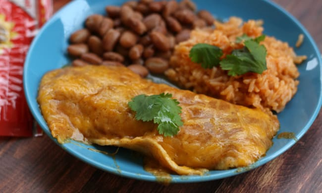 Authentic Cheese Enchiladas