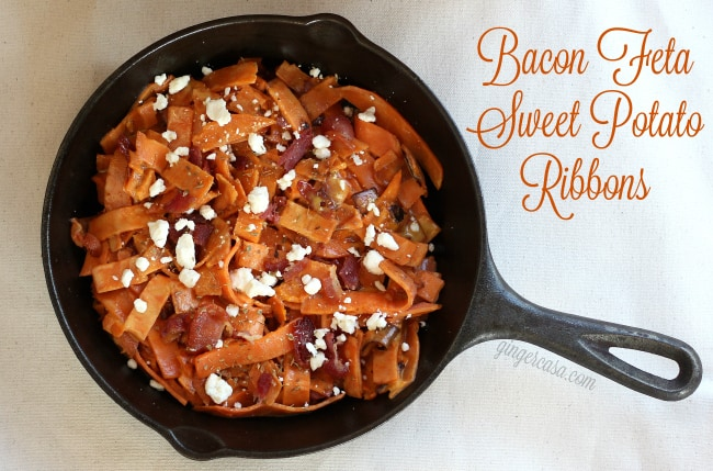 sweet potato ribbons