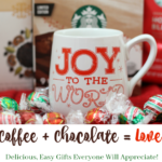 Delicious, Easy Gifts Everyone Will Appreciate! Coffee + Chocolate = Love!