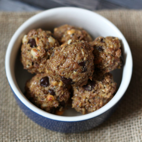 Peanut Butter Chocolate Energy Balls - Jump Start Your Busy Day!