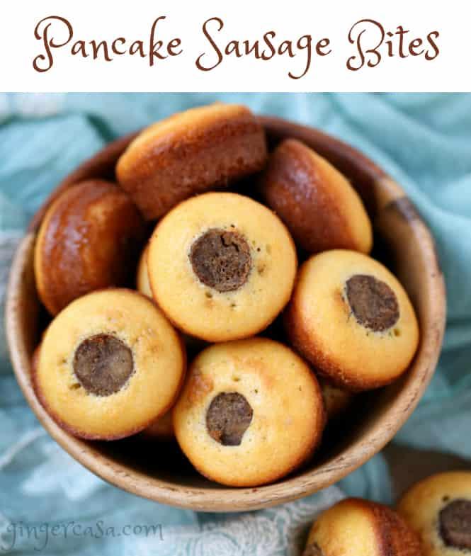 pancake sausage bites