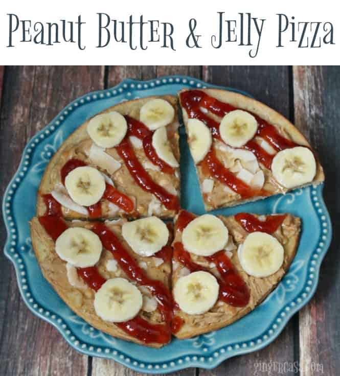 Peanut Butter And Jelly Pizza