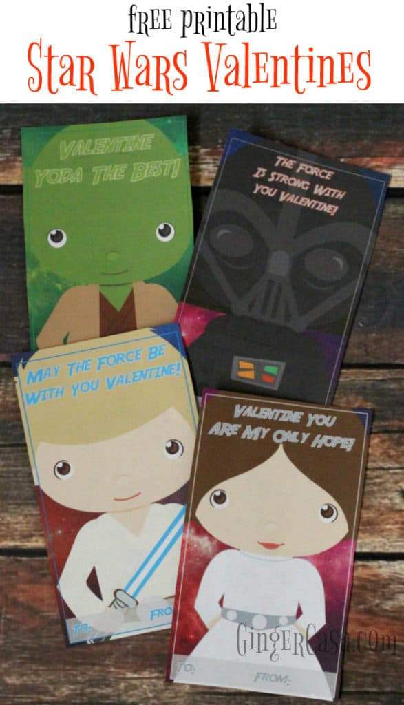 Spread The Love With Star Wars Valentines! {free printable}