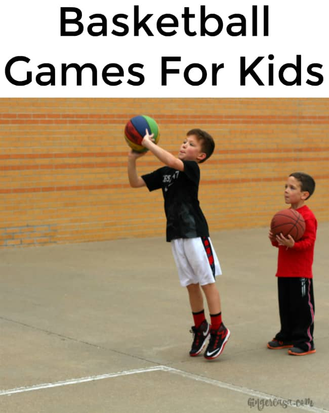 basketball games for kids