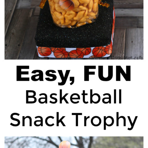 DIY Snack Trophy