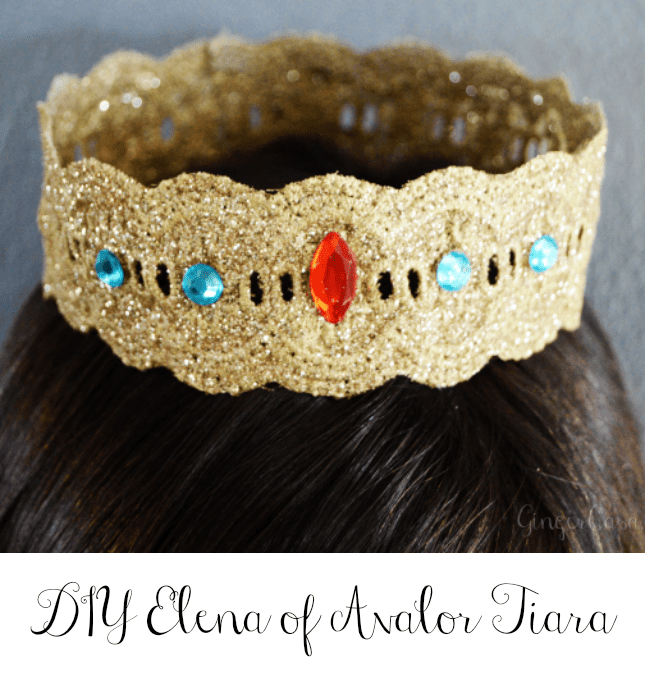 elena of avalor tiara craft