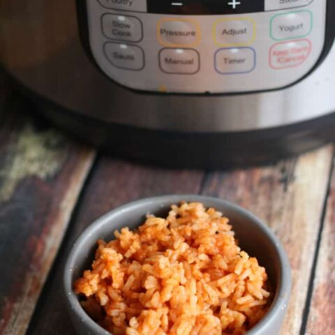 15 Minute Instant Pot Mexican Rice