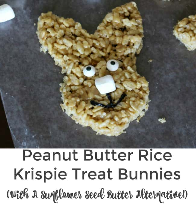 peanut butter rice krispie treat