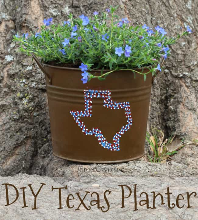 diy texas planter