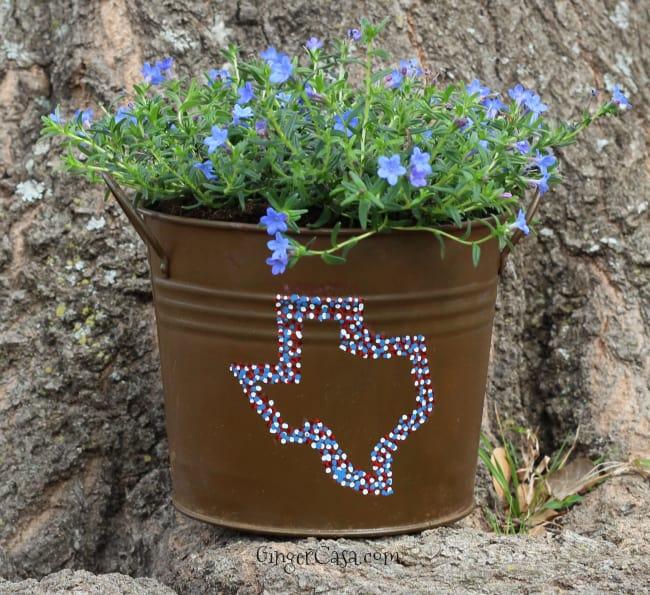 diy texas planter