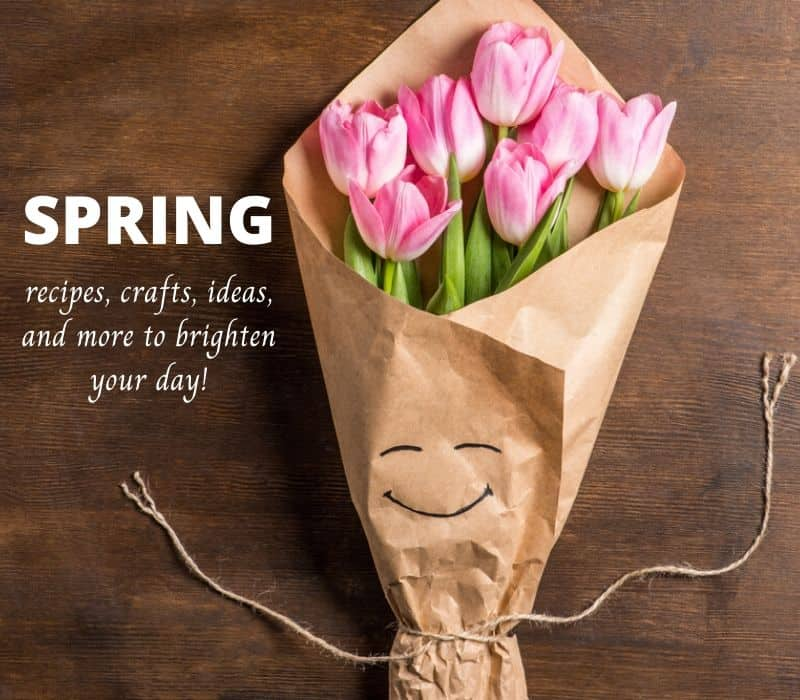 spring recipes, crafts, ideas and more to brighten your day!