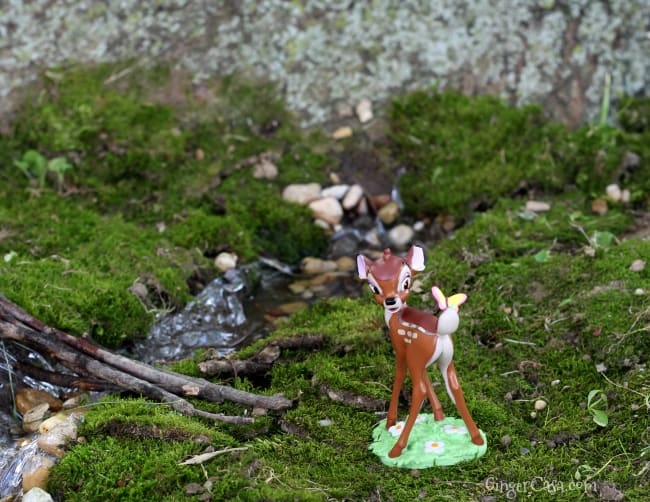 bambi fairy garden tree