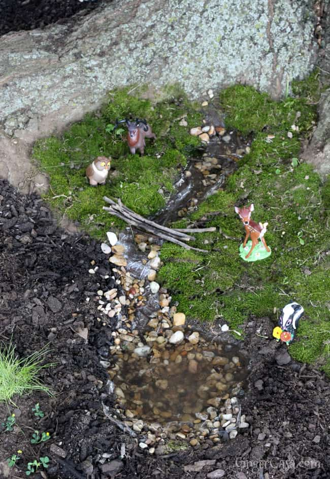 Create A Bambi Fairy Garden - A Fun Outdoor Activity For Kids!