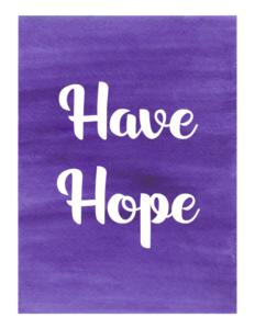 fitness motivation - have hope