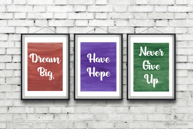 motivational printables