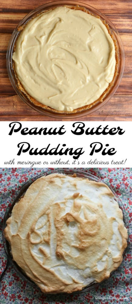 how to make peanut butter pudding