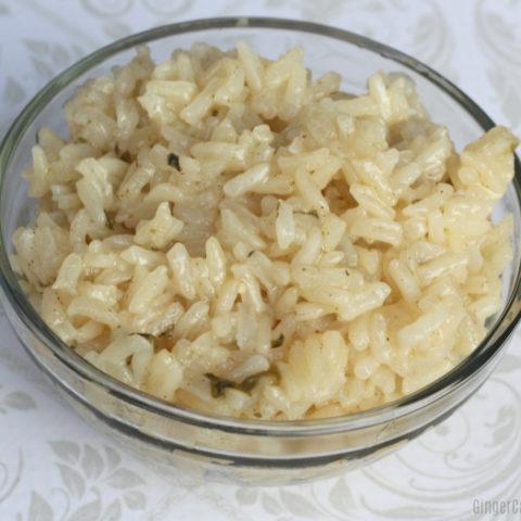 15 Minute Instant Pot Cilantro Lime Rice