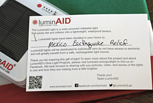 luminaid small business unique gifts