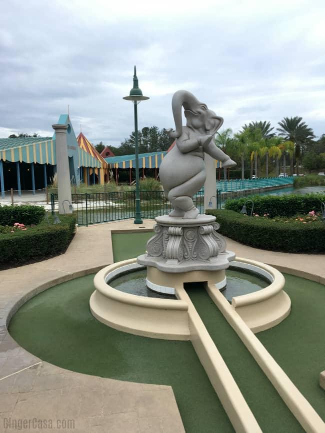 Fantasia Gardens Mini Golf At Walt Disney World Perfect For Off Days
