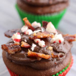 Peppermint Candied Bacon Cupcakes – A Truly Delicious, Unique Dessert!