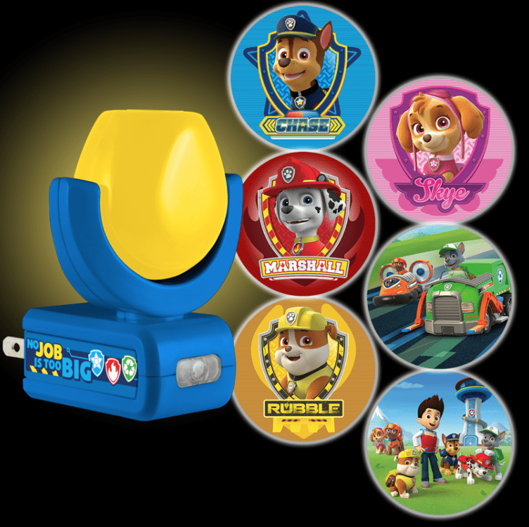 paw patrol projectables