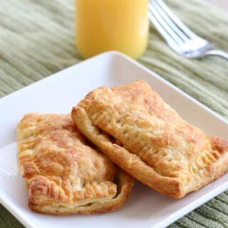 Quick Air Fryer Breakfast Pockets
