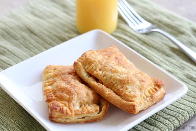 Quick Air Fryer Breakfast Pockets