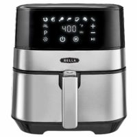 Bella 5.3 Quart Touchscreen Air Convection Fryer