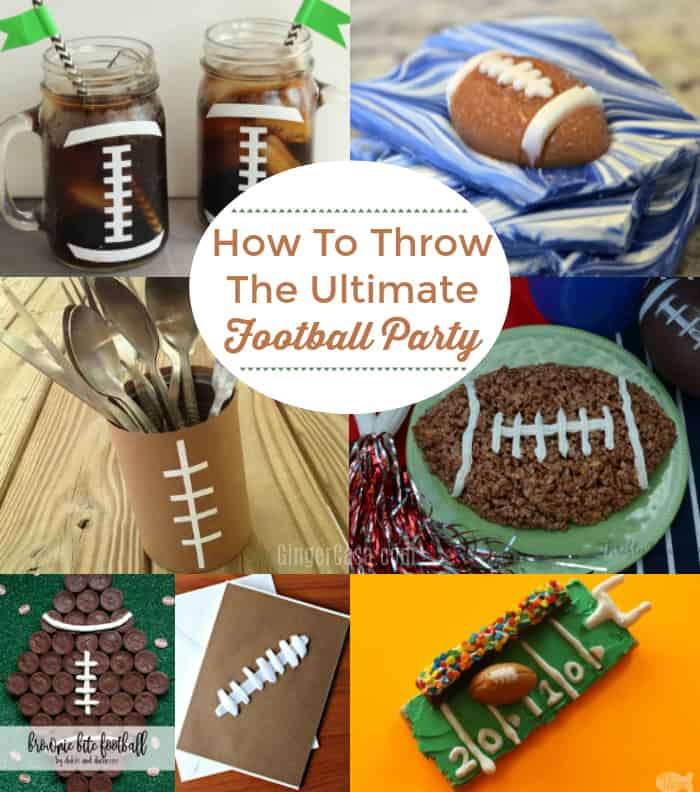 how to throw the ultimate football party for kids