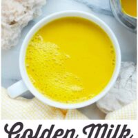 How To Make Golden Milk - A Delicious Drink With Many Health Benefits!