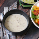 Soup + Cobb Salad = The Perfect At-Home Date Night!