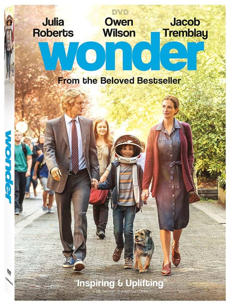 wonder movie dvd