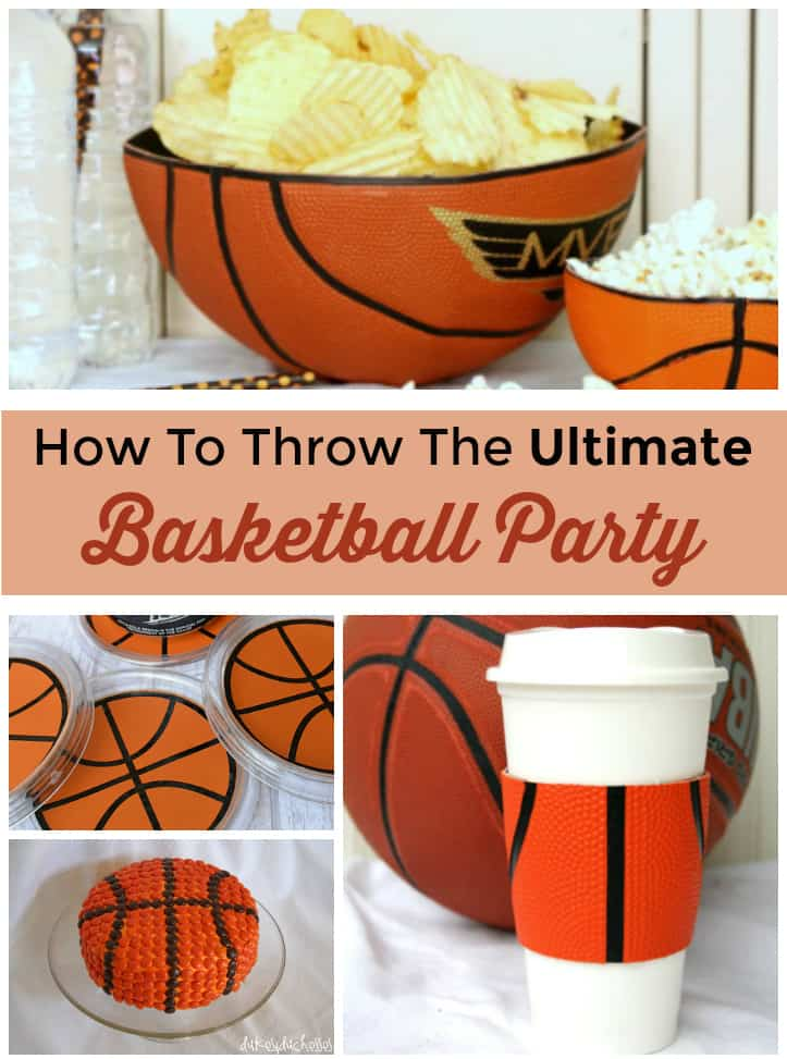 how to throw the ultimate basketball party for kids