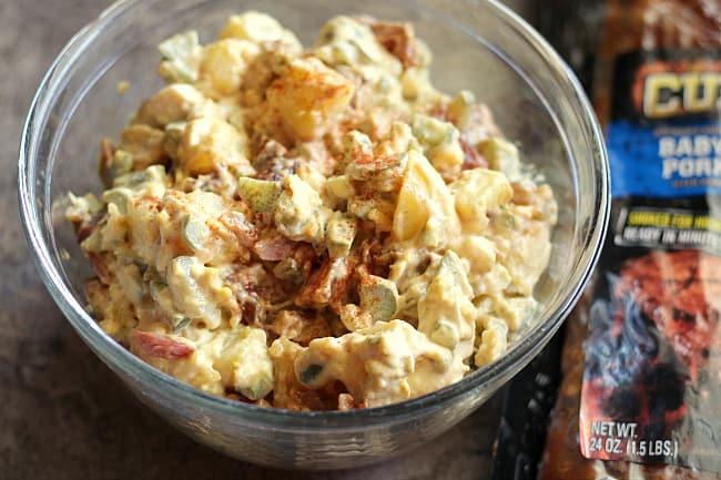 BBQ Rib Potato Salad