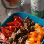 30 Minute Instant Pot Steak Burrito Bowls