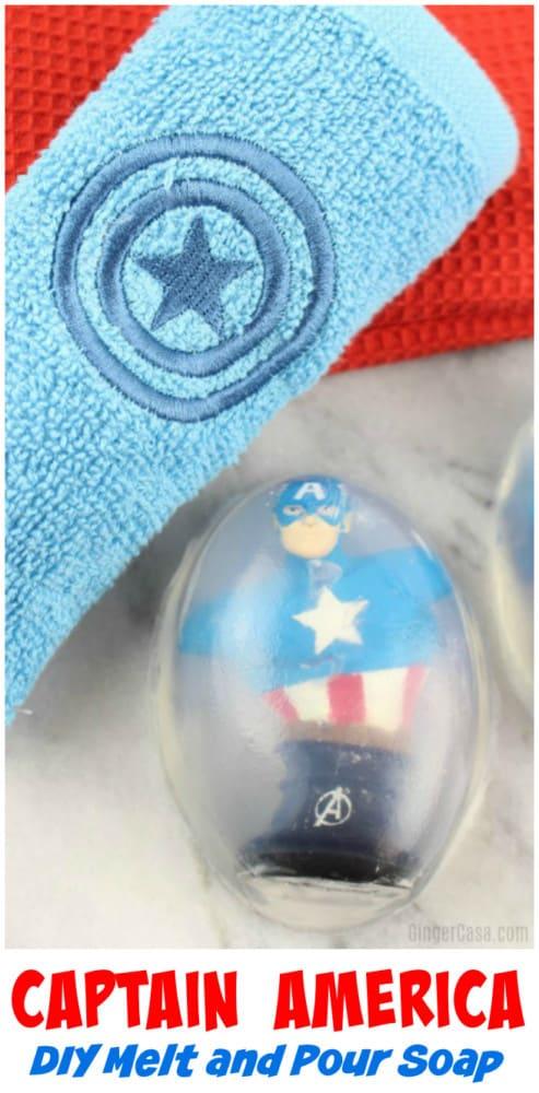 captain america diy avengers