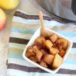 Instant Pot Cinnamon Apples – Great for Snack, Breakfast, or Dessert!
